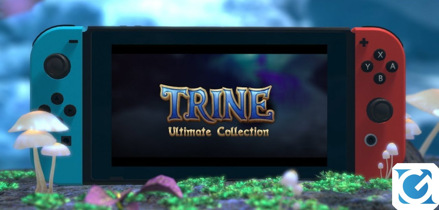 Trine: Ultimate Collection confermato per Nintendo Switch in autunno