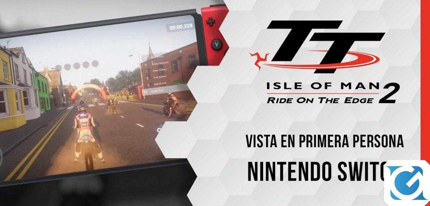 TT Isle of Man – Ride on the Edge 2 è disponibile su Nintendo Switch
