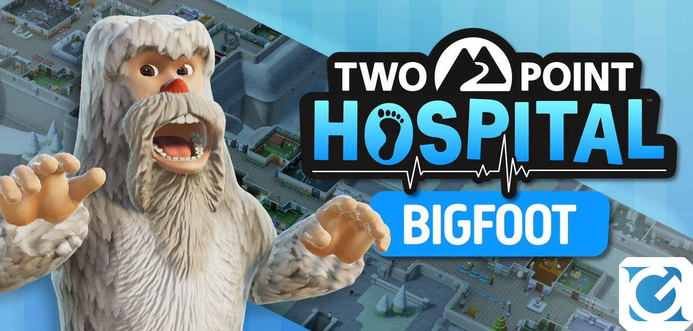 Two Point Hospital: pubblicato il DLC Bigfoot