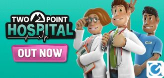 Two Point Hospital è finalmente disponibile per console