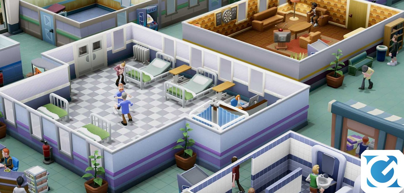 Two Point Hospital si aggiorna grazie al DLC Interior Designer