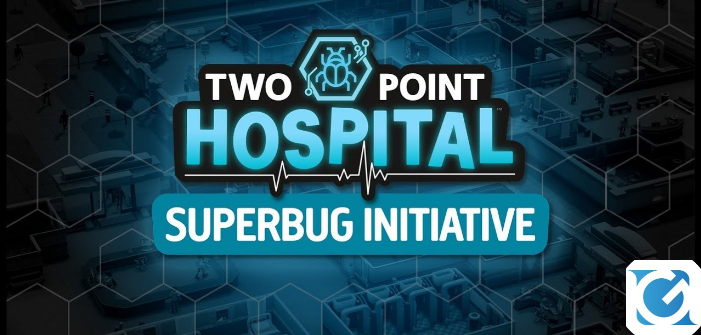 Progetto Supervirus di Two Point Hospital sarà disponibile dal 30 aprile
