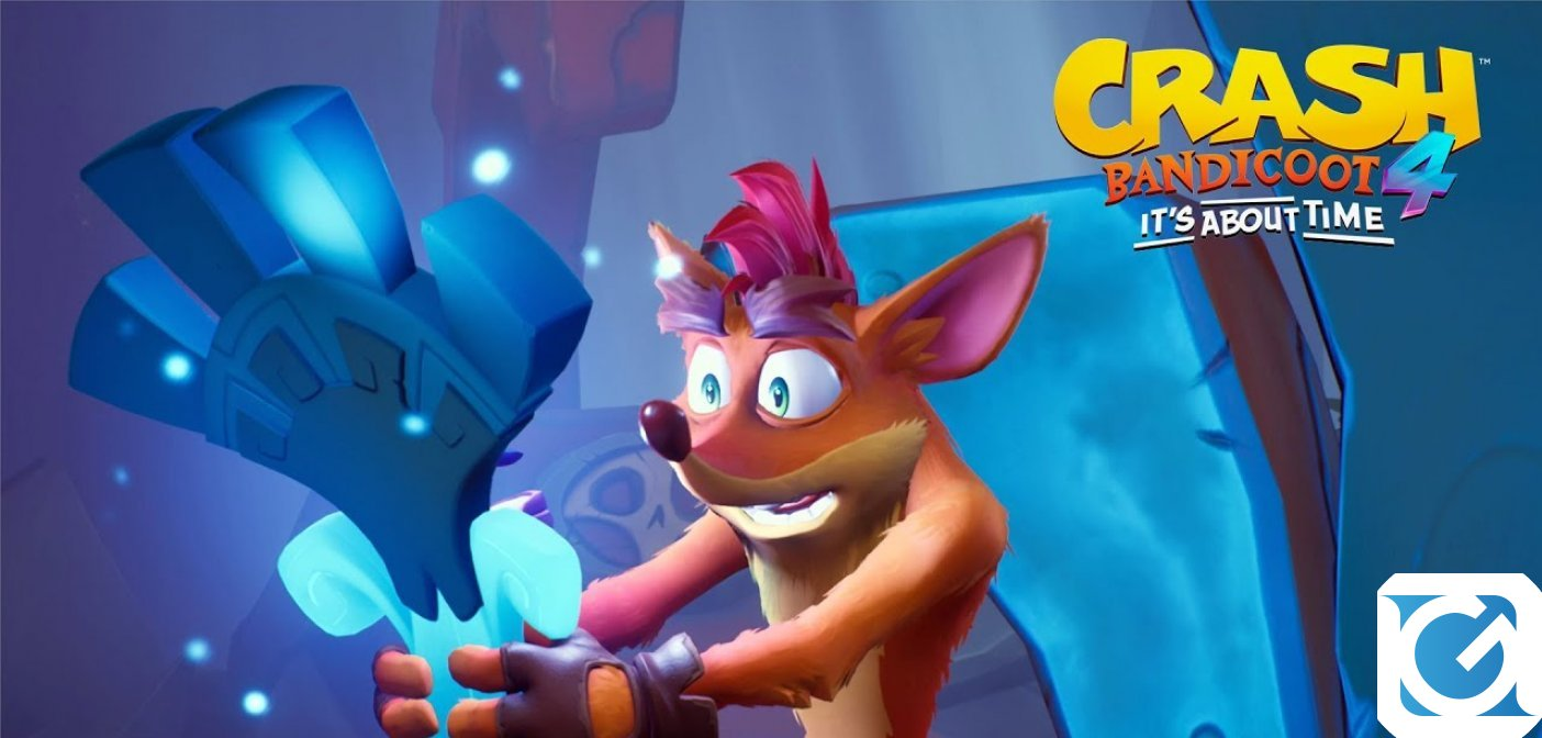 Un sacco di novità su Crash bandicoot 4: it's about time sono state svelate all'evento State of Play di Playstation