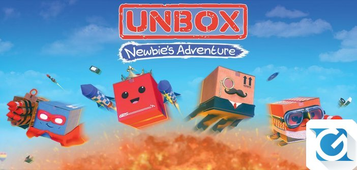 Merge Games ha annunciato Unbox: Newbie's adventure per Nintendo Switch, Playstation 4 e XBOX One