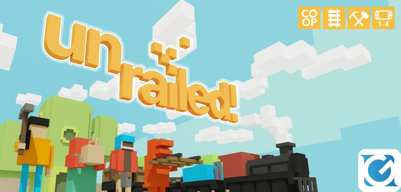 Unrailed! è disponibile per PC e console