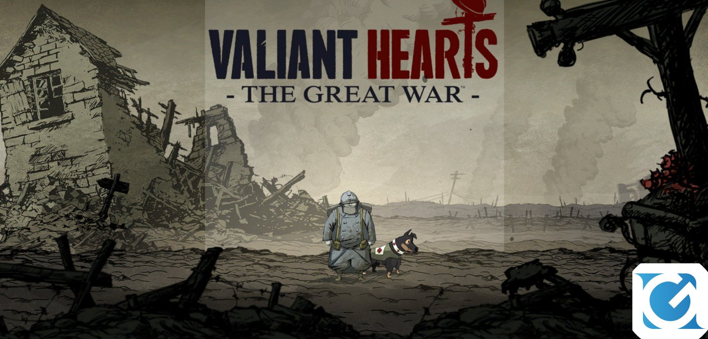 Valiant Hearts: The Great War è disponibile su Nintendo Switch