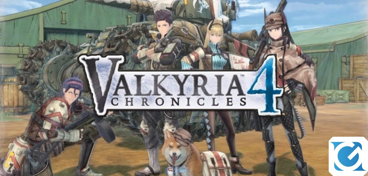 Valkyria Chronicles 4 e' disponibile per PC e console