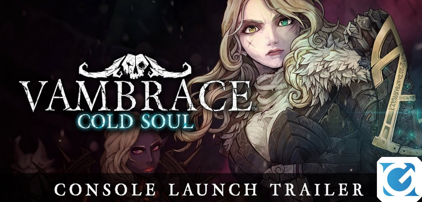 Vambrace: Cold Soul sarà disponibile da domani su Playstation 4 e Nintendo Switch