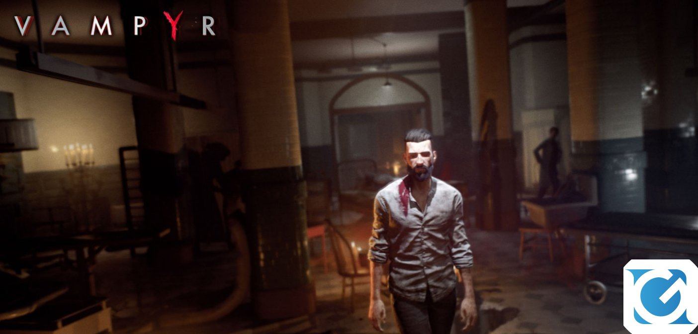 Vampyr è disponibile per Nintendo Switch