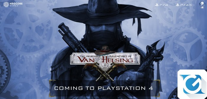 The Incredible Adventures of Van Helsing: Extended Edition: e' in arrivo per PS4
