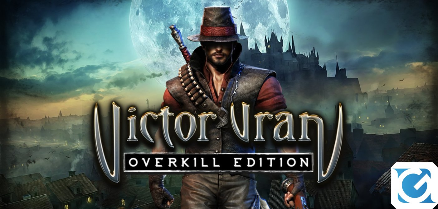 Victor Vran: Overkill Edition e' disponibile per Nintendo Switch