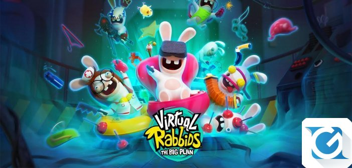 Ubisoft annuncia Virtual Rabbids: The Big Plan