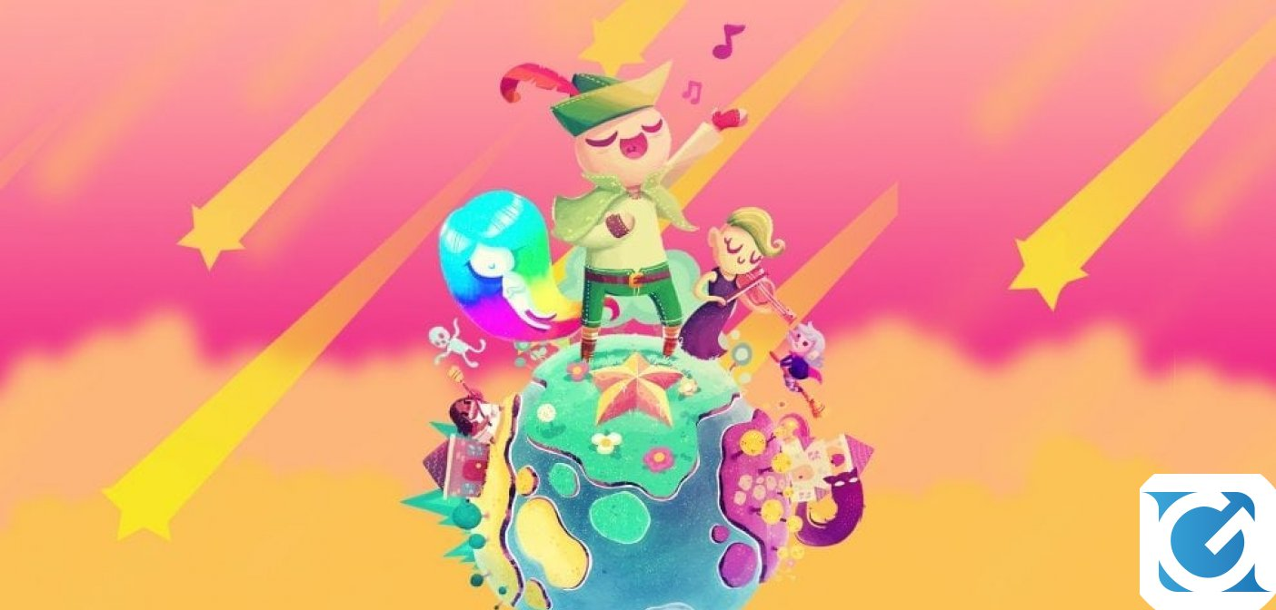Wandersong arriva su Switch e PC il 27 settembre