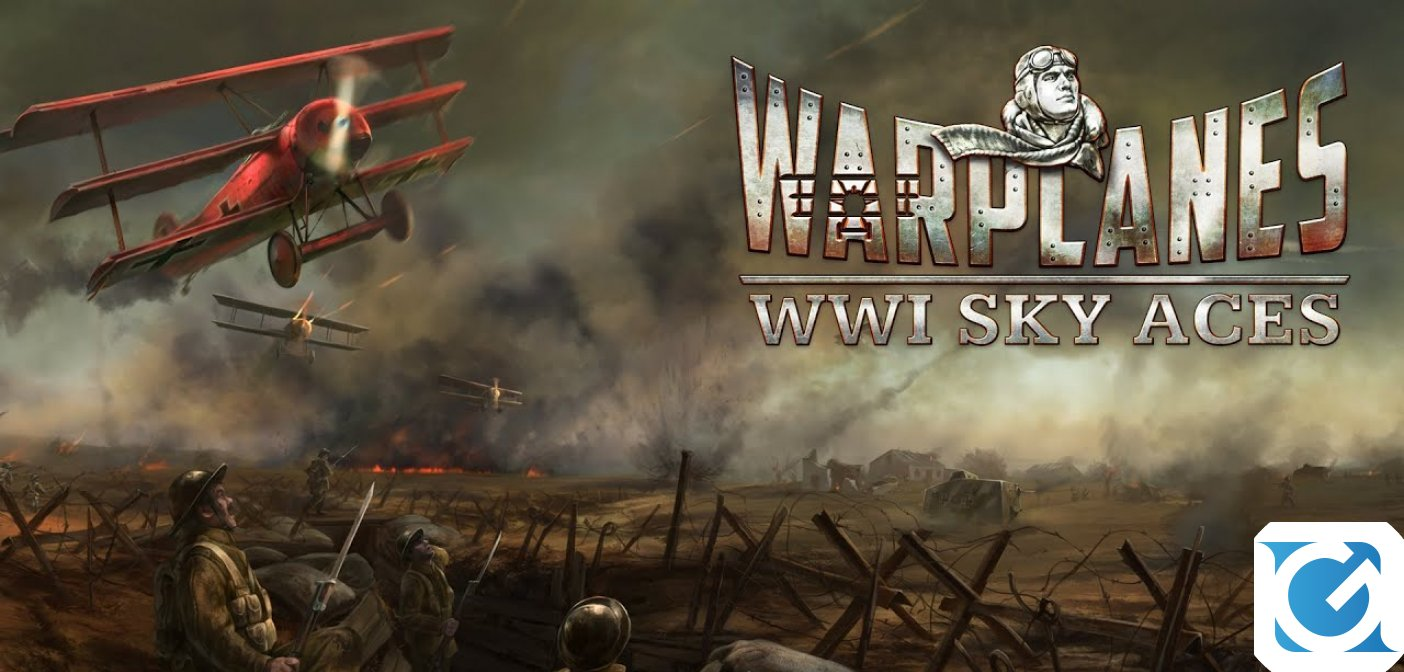 Warplanes: WW1 Sky Aces arriva su Switch a dicembre