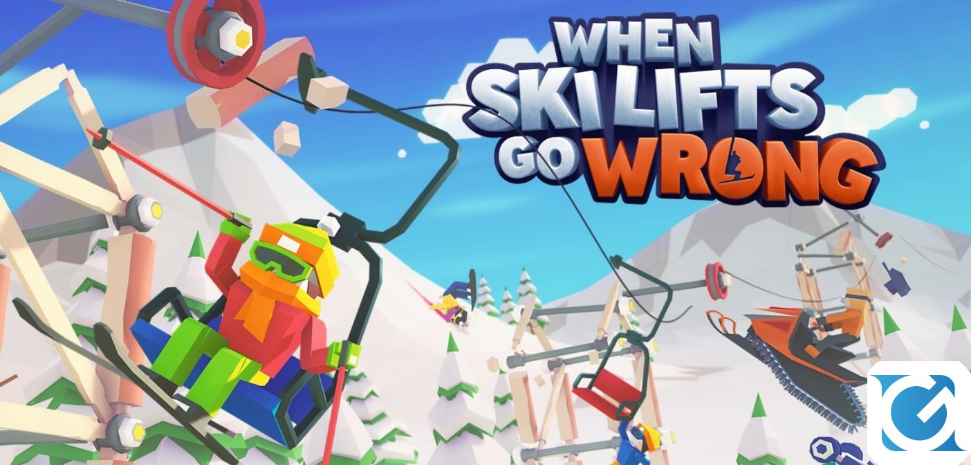 When Ski Lifts Go Wrong è disponibile per PC e Switch