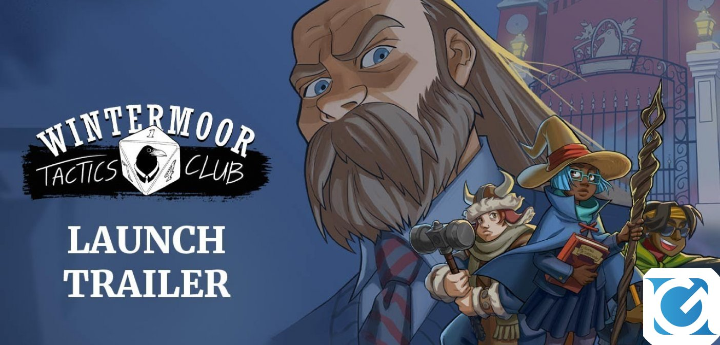 Wintermoor Tactics Club è disponibile su console