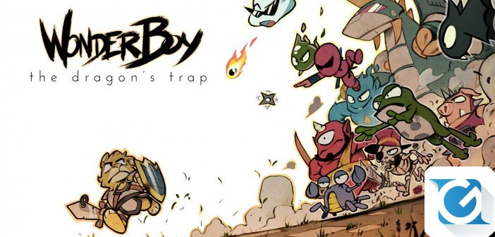 Wonder Boy The Dragon's Trap - Da HD a 8 bit