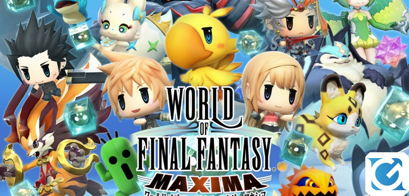 WORLD OF FINAL FANTASY MAXIMA è finalmente disponibile