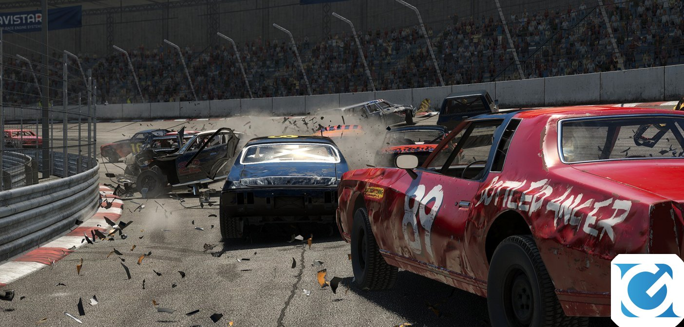 Wreckfest è disponibile per XBOX One e Playstation 4
