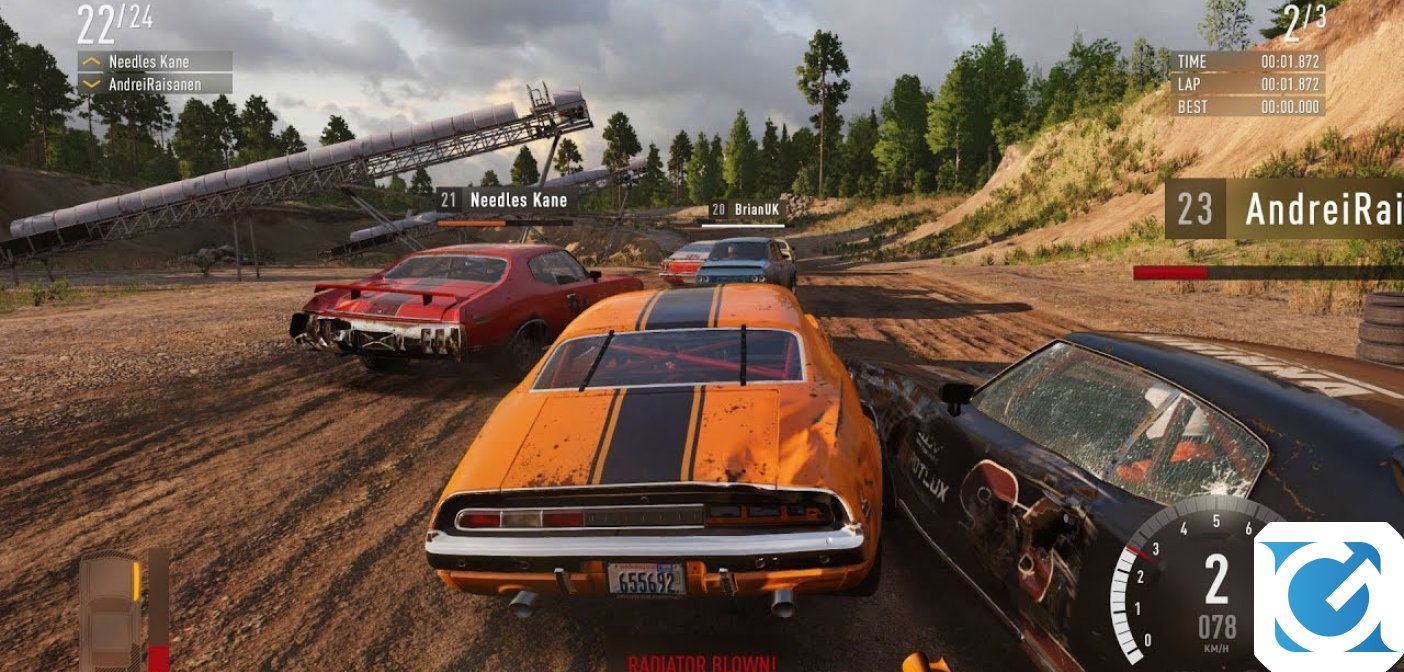 THQ Nordic acquisisce Bugbear Entertainment, lo studio dietro Wreckfest