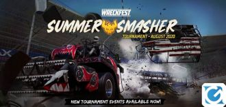 Wreckfest presenta il Summer Smasher Tournament