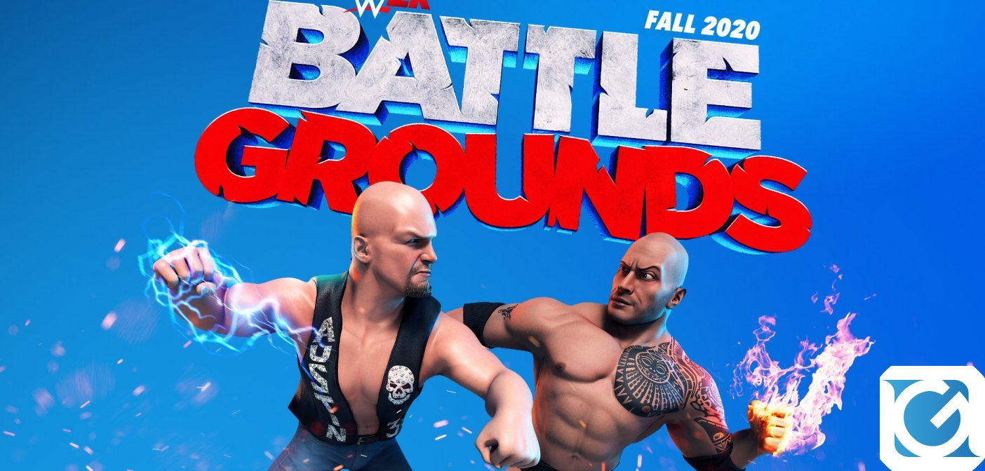 WWE 2K Battlegrounds è disponibile per PC e console