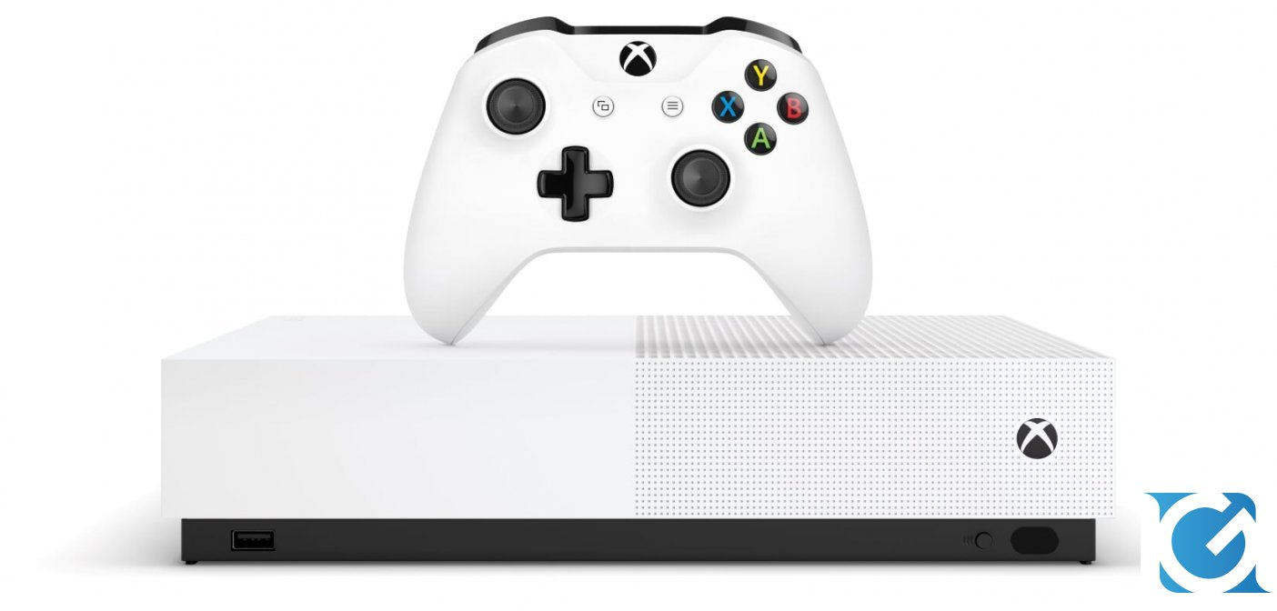 Xbox One S All-Digital Edition è disponibile in Italia