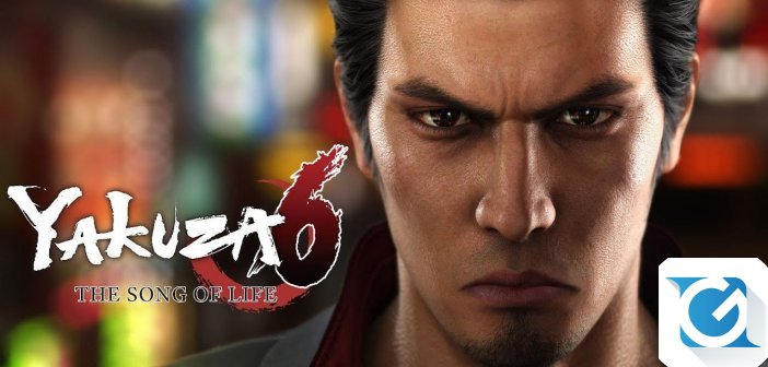 Yakuza 6: The Song of Life e' finalmente disponibile!