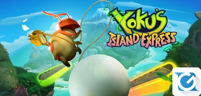 Yoku's Island Express e' disponibile