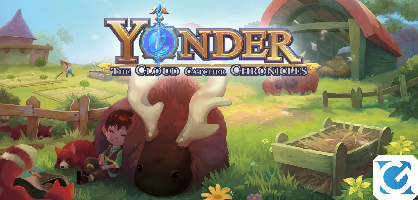 Yonder: The Cloud Catcher Chronicles è disponibile per XBOX One