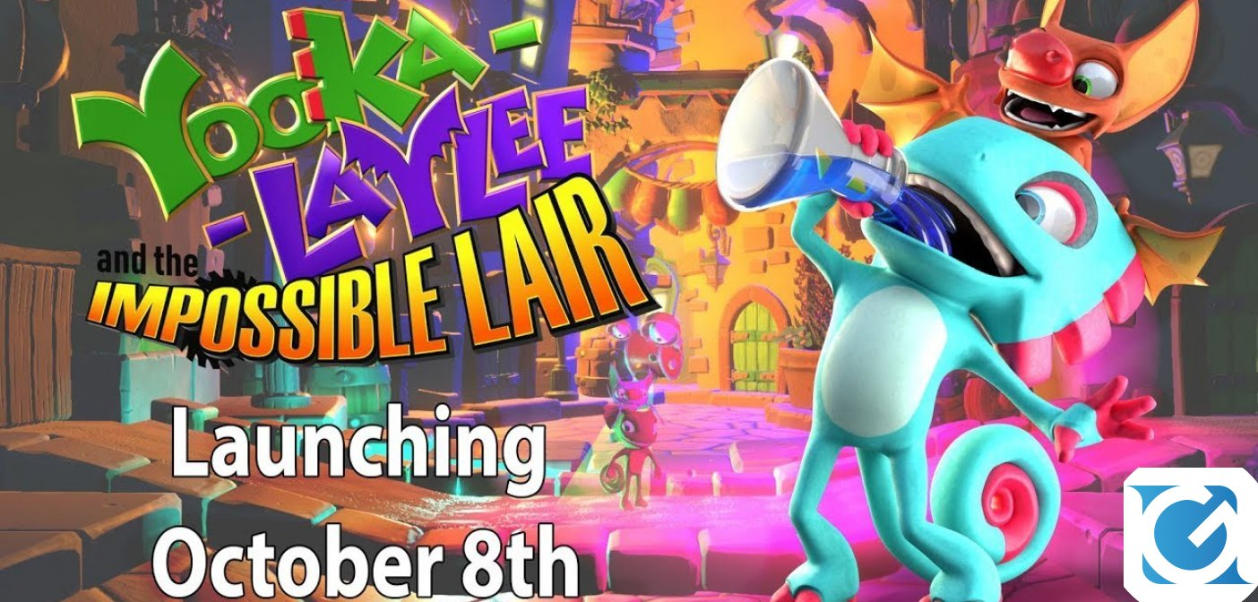 Yooka-Laylee and the Impossible Lair ha una data d'uscita