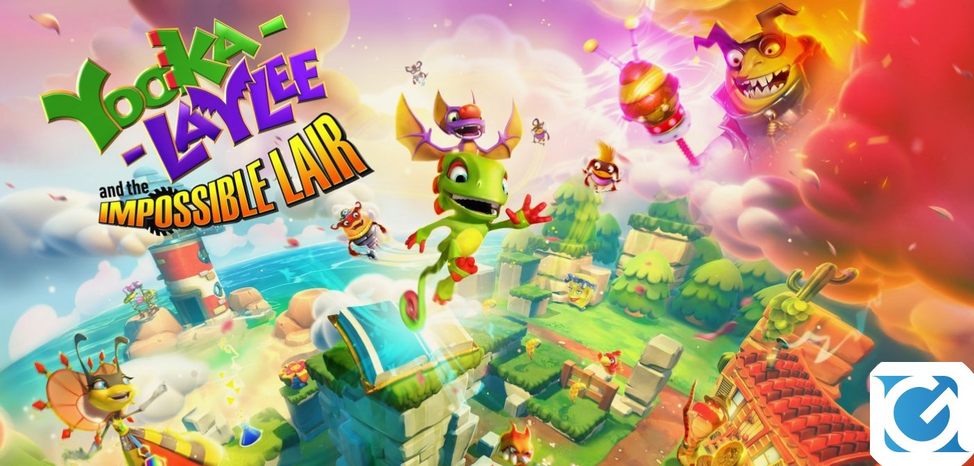 Team17 ha annunciato Yooka-Laylee and the Impossible Lair!