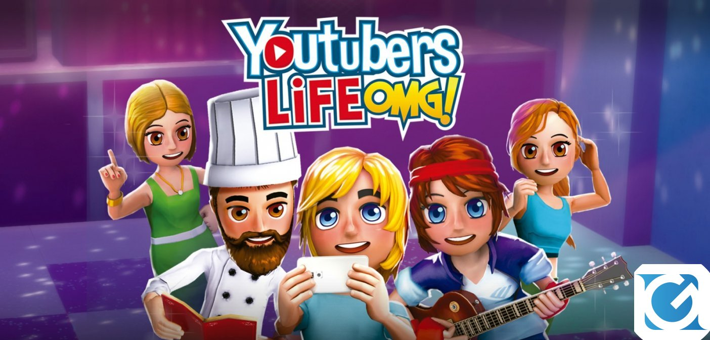 Youtubers Life OMG! Edition: collaborazione tra Koch Media e Raiser Games