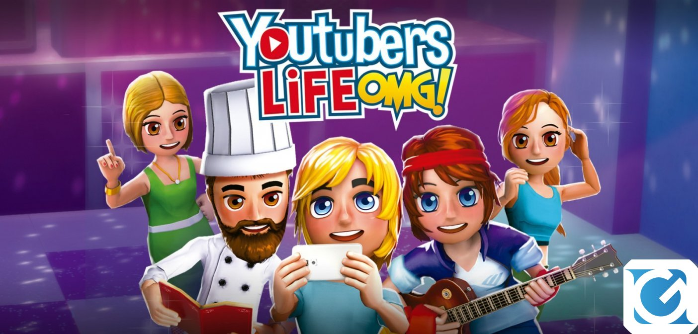 Youtubers Life OMG! Edition ora disponibile per Nintendo Switch