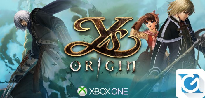 Ys Origins arriva su XBOX One in primavera