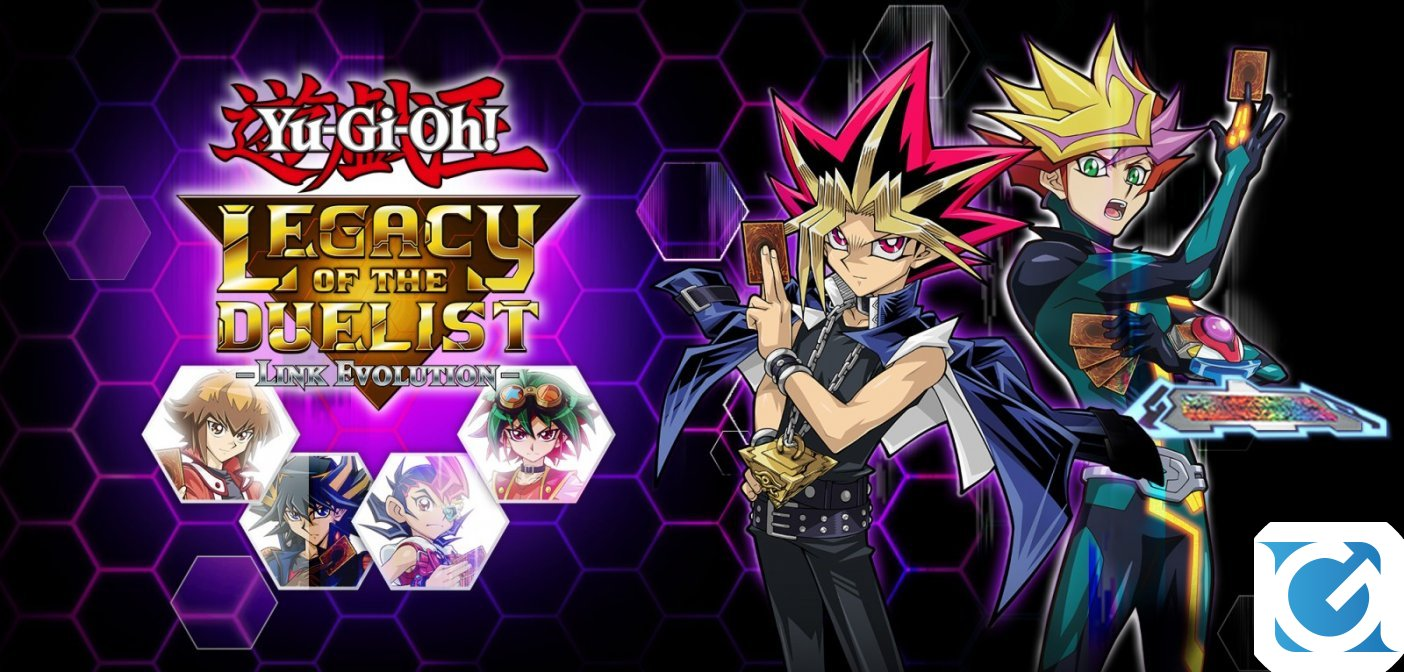 Yu-Gi-Oh! Legacy Of The Duelist: Link Evolution disponibile per Switch